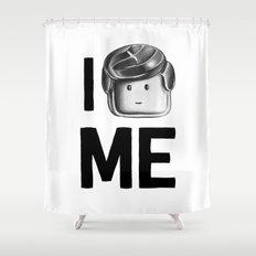 I Love Me Shower Curtain