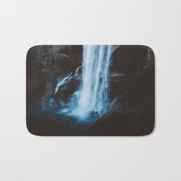 Blue Vernal Falls Bath Mat