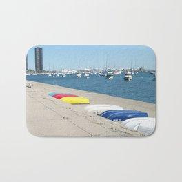 Chicago, Chicago shoreline, Skyline, Lake Michigan Bath Mat