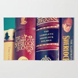 Library of Sherlock Holmes Rug