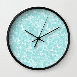 Limpet Shell Polka Dot Bubbles Wall Clock