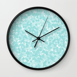 Limpet Shell Polka Dot Bubbles Wall Clock