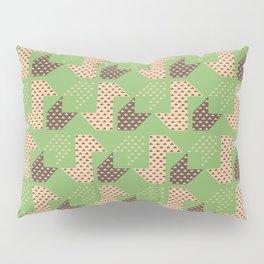 Clover&Nessie Pistachio/Mocha Pillow Sham