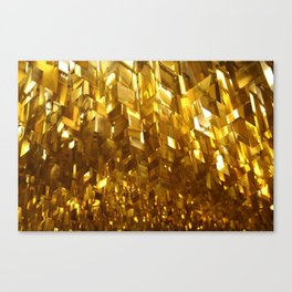 Gold Ceiling Canvas Print