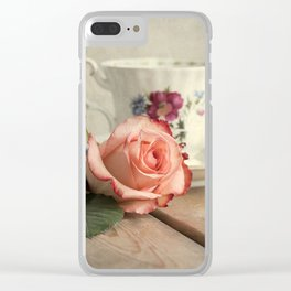 Have a cup of tea, please Clear iPhone Case