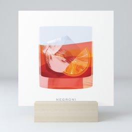 Cocktail Hour: Negroni Mini Art Print