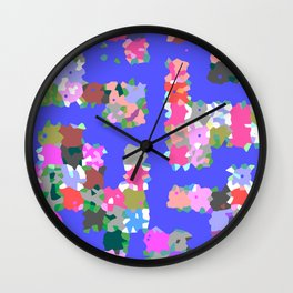 Magic Dots Wall Clock