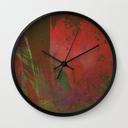 Lost in the Jungle - Yossi Ghinsberg Wall Clock