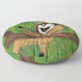 Raccoon Series: Oops! Floor Pillow