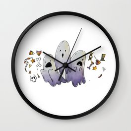 Little Ghosts ! Wall Clock