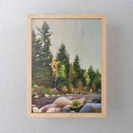 Upstate New York Gorges Framed Mini Art Print