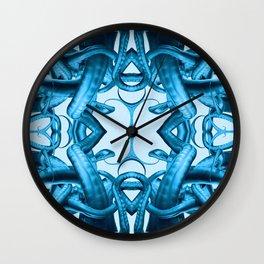 Tentacle Future Mandala Wall Clock