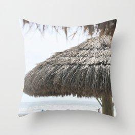 Seaside Paradise Throw Pillow