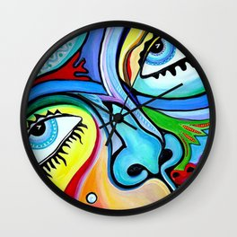My Mask Wall Clock