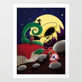 Under Hell's Light Art Print