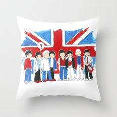Les Petits Great Britain Throw Pillow