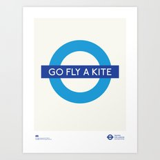 Go Fly A Kite | TFL Art Print