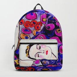 The Embrace Reimagined By James Thomas Ryan Backpack