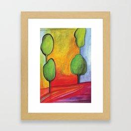 The Magic Trees Framed Art Print