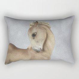 Young Horse Rectangular Pillow