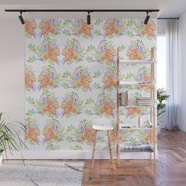 Tropical Leilee Hawaiian Flower Print Wall Mural