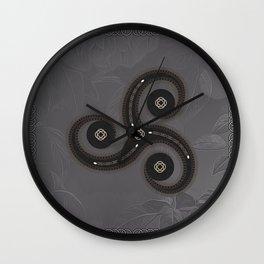Wonderful celtic knot Wall Clock