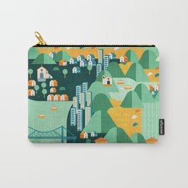 Floripa Brazil Carry-All Pouch
