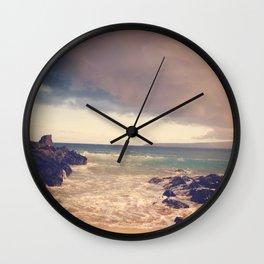 Tropical Storm coming  Wall Clock