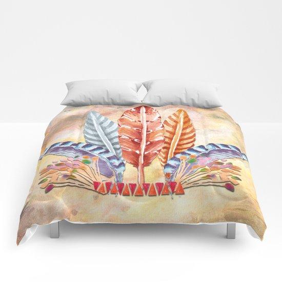 Autumn Feathers Comforters