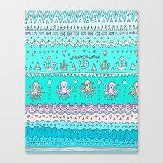 Sea Lines Canvas Print