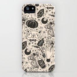 Magic pattern iPhone Case