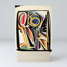 The Scream Street Art Graffiti Mini Art Print