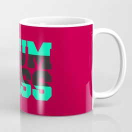 Drum and bass BOLD lettering Coffee Mug