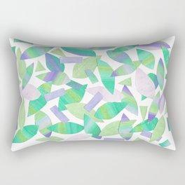 Leaf Litter (bright) Rectangular Pillow