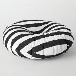 Black and White Stripped Pattern | Minimalist Floor Pillow