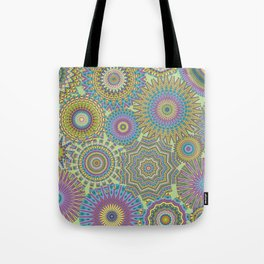 Kaleidoscopic-Jardin colorway Tote Bag