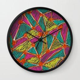 Life is Segmented Wall Clock