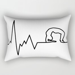 yoga puls Rectangular Pillow