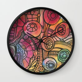 Growth from Chaos Wall Clock