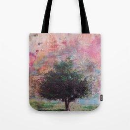 Beautiful tree on a Sailor Take Warning morning Tote Bag