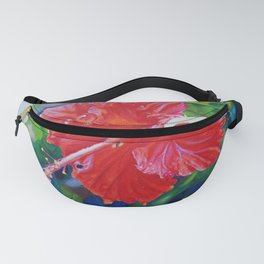 Tropical Hibiscus Fanny Pack