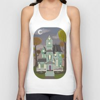 house Tank Tops featuring House by Fran Court