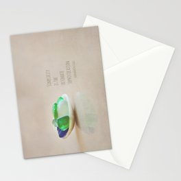 Simplicity is the Ultimate Sophistication Stationery Cards
