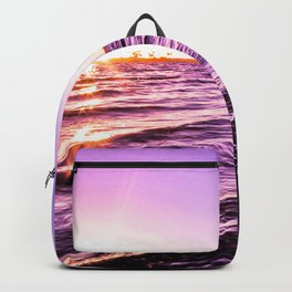Mission Bay Riverboat Sunset in San Deigo, California Backpack