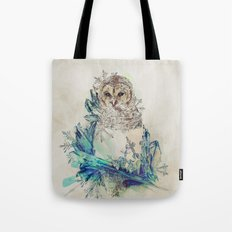 Night Frost Tote Bag