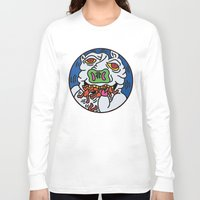 keith haring Long Sleeve T-shirts featuring Keith Haring Pig 1988  by cvrcak
