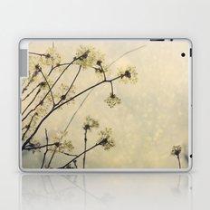 Spring Branches in White Botanical Laptop & iPad Skin