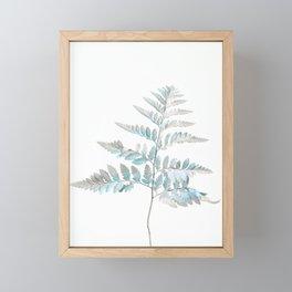 Botanical Tree Fern Framed Mini Art Print