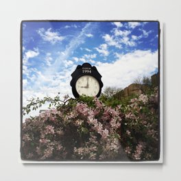 Time: the endless relentless that continue happening Metal Print