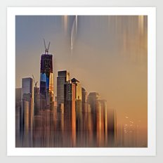 Freedom Tower Fantasy Art Print
